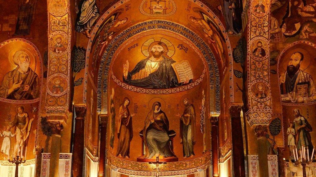 Capilla Palatina del Palacio de los Normandos, Palermo, Sicilia