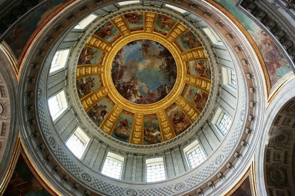 Cupula de Los Inválidos Paris