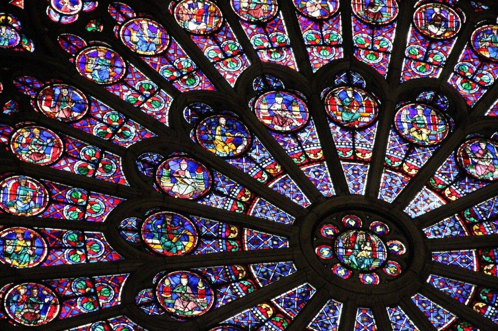 Roseton de Notre Dame