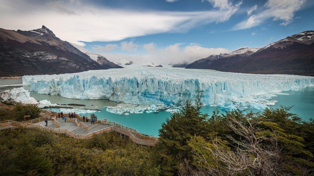 El glaciar Perito Moreno, una de las maravillas naturales del mundo