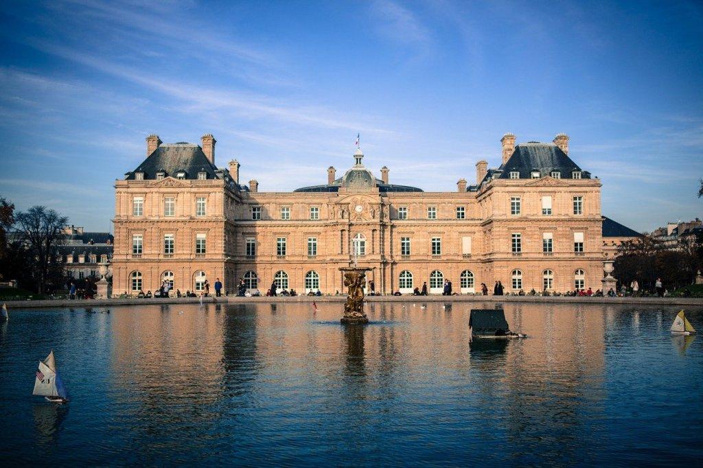 Palacio de Luxemburgo, sede del Senado francés