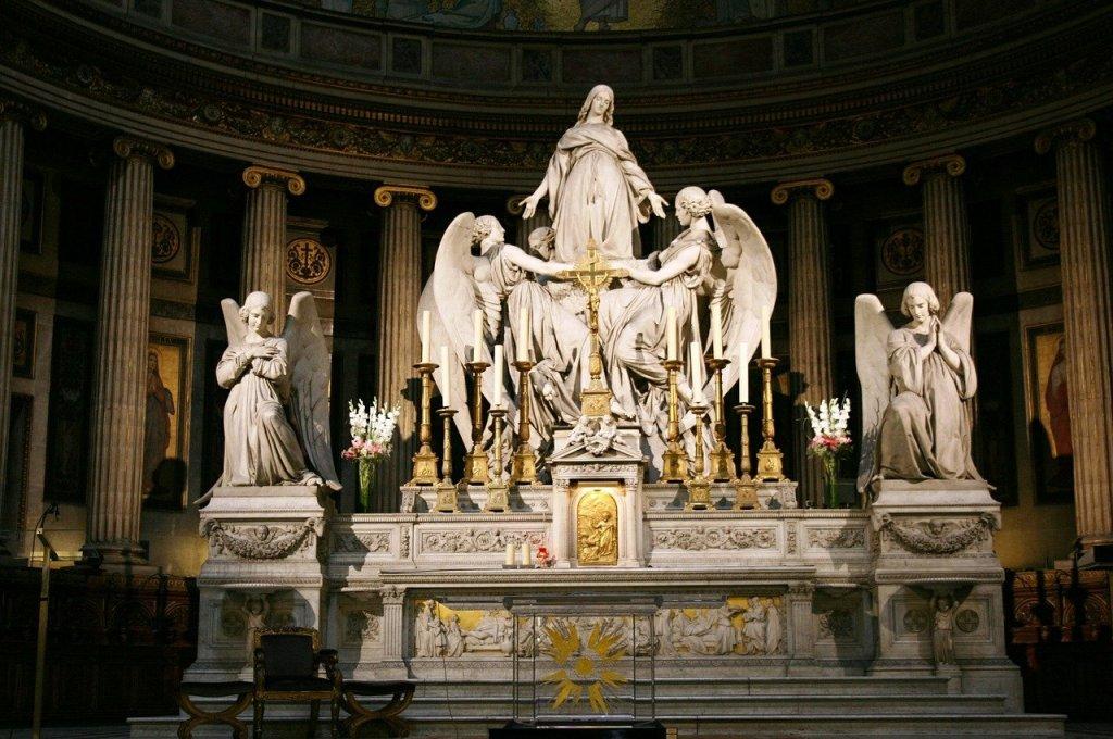 Altar de La Madeleine