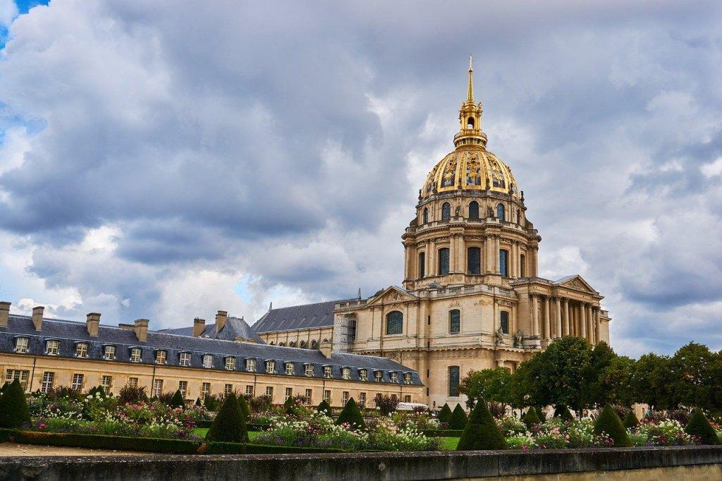 Palacio de Les Invalides en Paris